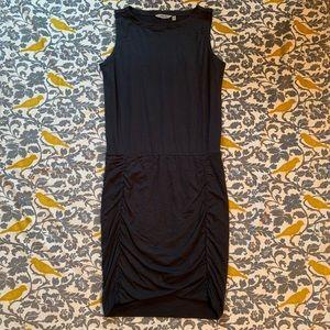 Athleta Charcoal Grey Tulip Dress EUC Size M